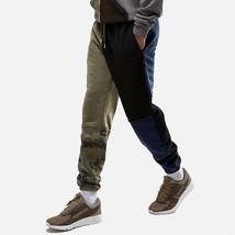 4Colors Splicing Joggers Pants Camouflage Army Men Sweatpants Slim Military Pant - $24.42