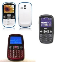 Samsung SCHR350 Freeform  Grey, Red/Black or White/Blue  CDMA Phone - $37.61