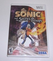 Sonic and the Secret Rings (Nintendo Wii, 2007) - $5.36