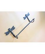 "Cast Iron Dragonfly 24"" towel bar rack holder wall mount bathroom kitchen - $34.99"