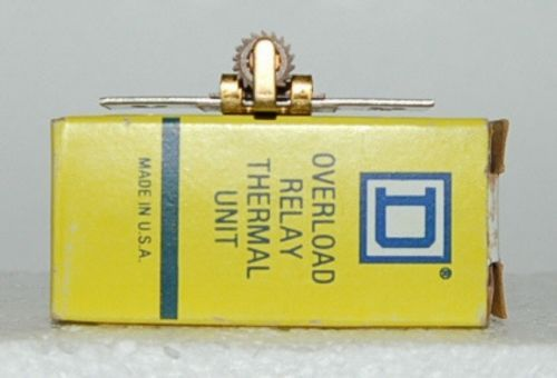 Square D B40 Overload Relay Thermal Unit USA Made New