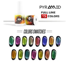 Pyramid 9D Cat Eye Gel Collection 0.5 oz - $15.99