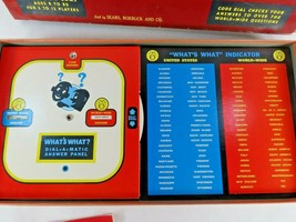 1964 Milton Sears & Roebuck What's What Quiz Board Game Complete - $48.50