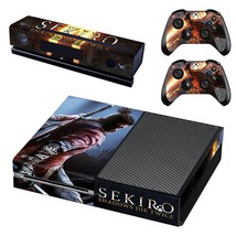 Sekiro Shadows Die Twice decal for xbox one console and 2 controllers - $15.00