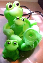 Frog + Babies Soapdish Bath Toy - $5.00