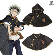 Cloak Black Clover Asta Outfit Black Bull Short Cape Cosplay Costume Unisex - $21.99