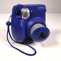 Fujifilm Instax Mini 7s Navy Blue Instant Film Camera Works Great - $18.49