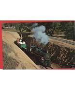 CALISTOGA CALIFORNIA STEAM RAILROAD SILVERADO P... - $6.35
