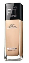 Maybelline Dewy +Smooth Fit Me Foundation Normal to Dry - 225 Medium Buff - $7.49