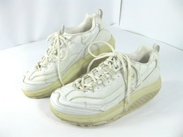 Sketcher Shape Ups Womens Size 8 White 11800 Fitness Sneaker Walking Shoes - $19.99