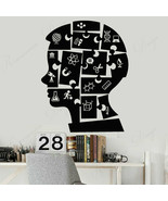 Wall Stickers Vinyl Home Decor Boy Puzzles Education Chemistry Physics S... - $14.49+