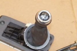 08-10 BMW Mini Cooper 6-Speed Manual Shift Shifter Assy W/ Cables Knob & Boot image 2