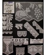 Vintage Crochet Edges Edging Patterns Elizabeth Hiddleson  - $5.99
