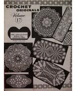 Vintage Crochet Original Doily Doilies Patterns 1960's - $5.99