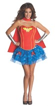 Secret Wishes Women's Wonder Woman Red Blue Corset Tutu Costume, S, M, L - $52.91+