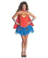 Secret Wishes Women's Wonder Woman Red Blue Corset Tutu Costume, S, M, L - £43.04 GBP+
