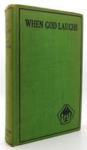 Jack London cuando Dios Risas Vintage Copia - $105.04