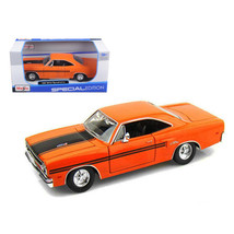1970 Plymouth GTX Orange 1/25 Diecast Model Car by Maisto 31220or - $27.72