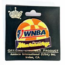 WNBA Phoenix Mercury Basketball Lapel Pin  - $10.69