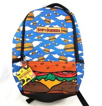 Bobs Burgers Laptop Backpack Flying Hamburgers Cheeseburgers Angel Wings... - $29.61