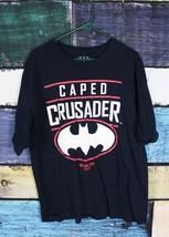 Batman DC Comics Men's 2XL XXL Caped Crusader Gotham City Graphic Tee T-Shirt - $17.53