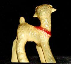 Ceramic Lamb Figurine AA19-1559 Vintage image 8