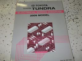 2009 Toyota Tundra Electrical Wiring Diagram Manual Ewd Factory 09 - $18.76