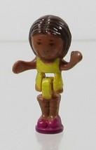 1989 Vintage Polly Pocket Doll Beach Party - Little Lulu Bluebird Toys - $8.00
