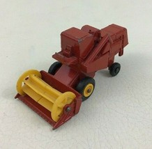 Claas Combine Harvester Matchbox Series Number 65 Die Cast Toy Lesney - $9.85