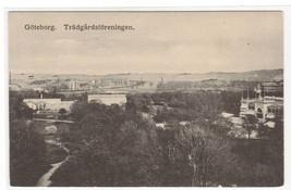 Panorama Tradgardsforeningen Goteborg Gothenburg Sweden postcard - $5.94