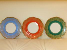 Weimar Parzellan Dora Salad or Dessert Plates - Set of 3 - $44.00