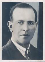 1936 Photo Roswell Gray Ham Associate Professor English Lit Yale Portrai... - $23.23