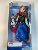 New Disney Parks Anna and Olaf Frozen Princess Classic Doll - $29.44