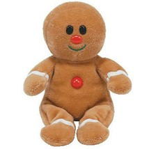 Sweetsy Gingerbread Man 2007 Jingle Beanies Ty Beanie Baby MWMT Retired - $22.72