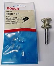 """Bosch 84435M 3/16"""" Cut Bull Nose Router Bit 1/4"""" Shank USA - $15.84"""
