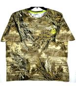 REALTREE MAX-1 XT Camo Hunting T-Shirt Short Sleeve - 2XL - EXCELLENT! - $13.85