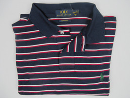NEW Polo Ralph Lauren Striped Polo Shirt! *Interlock Cotton*  *Custom Fit* - $39.99