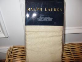 Ralph Lauren VERDONNET JACQUARD King Pillowcases NEW - $75.95