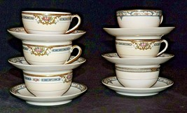 Theodore Haviland Limoges France  (6 Cups and 6 Saucers) AA20-2347A Vintage