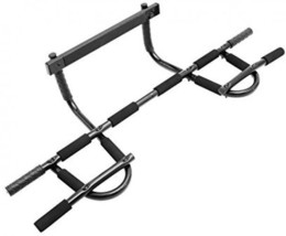 Pull Up Bar Doorway Mount Workout Station Exercise Strength Trainer Home... - $36.99