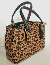 New Coach 22889 mini Christie Carryall Wild Heart Coated Canvas handbag ... - $129.00
