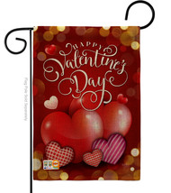 Beloved Valentine's Day Burlap - Impressions Decorative Garden Flag G151... - $22.97
