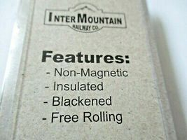 """Intermountain #40056  Wheels 36"""" Code 110 100 Axles Per Pack HO Scale image 4"""