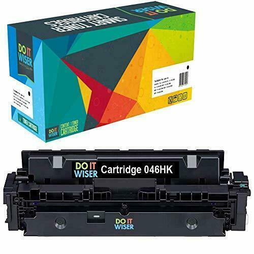 Do it Wiser Compatible Toner Cartridge Replacement for Canon 046 046H (Black) - $42.95