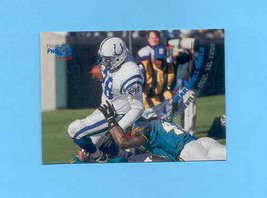 1996 Stadium Club Marshall Faulk Photo Gallery Insert Colts - $2.00