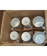 S. Paulo Brazil - Espresso Cups and Saucers - Set of 6 (New In Box) - $45.00