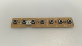 * Hitachi LE42H508  Button control board  JUC7.820.1301 - $10.50