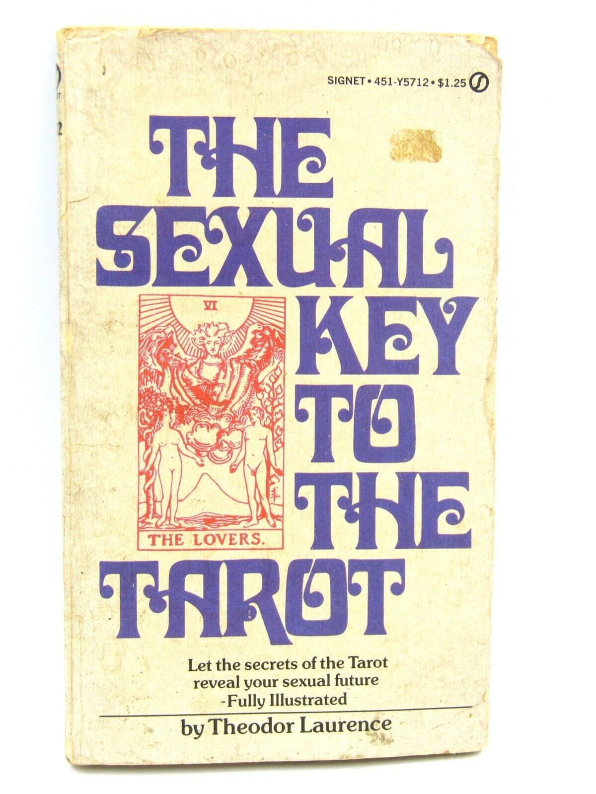 Primary image for The Sexual Key to the Tarot by Theodore Laurence, paperback - ACCEPTABLE