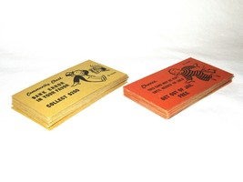 Vintage 1936 Copyright Monopoly Board Game 16 Chance + 16 Community Ches... - $14.99