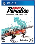 Burnout Paradise Remastered - PlayStation 4 [video game] - $13.76